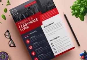19846تصميم نشرة إعلانية إحترافية (Flyer)